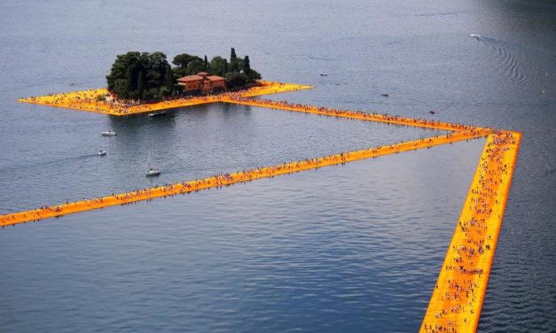 The Floating Piers, Lake Iseo